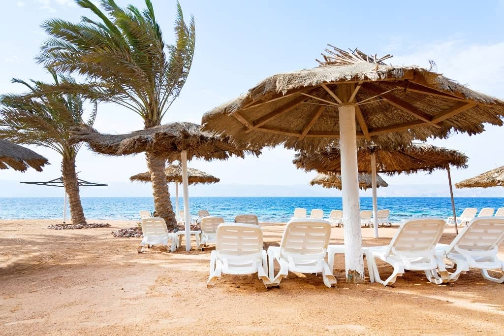 Aqaba - best beach vacations in december