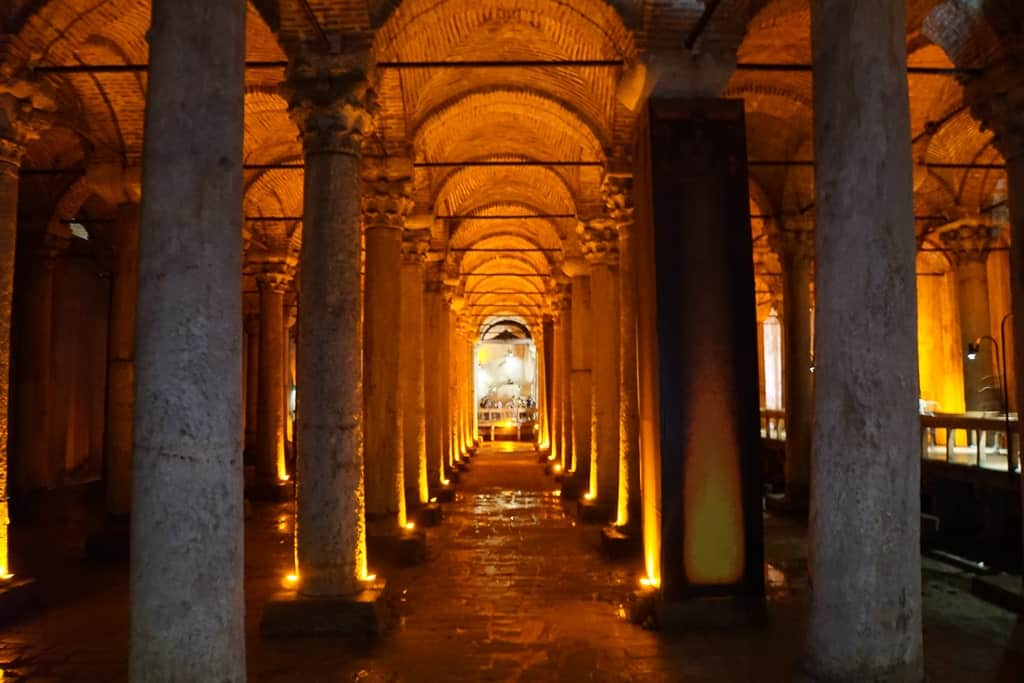 Basilica Cistern - 2 day Istanbul itinerary