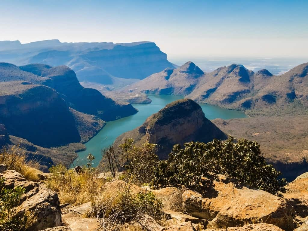 Blyde River Canyon - best places to visit in South Africa