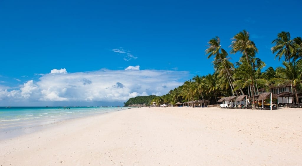 Boracay Philippines - Warm places to go in January