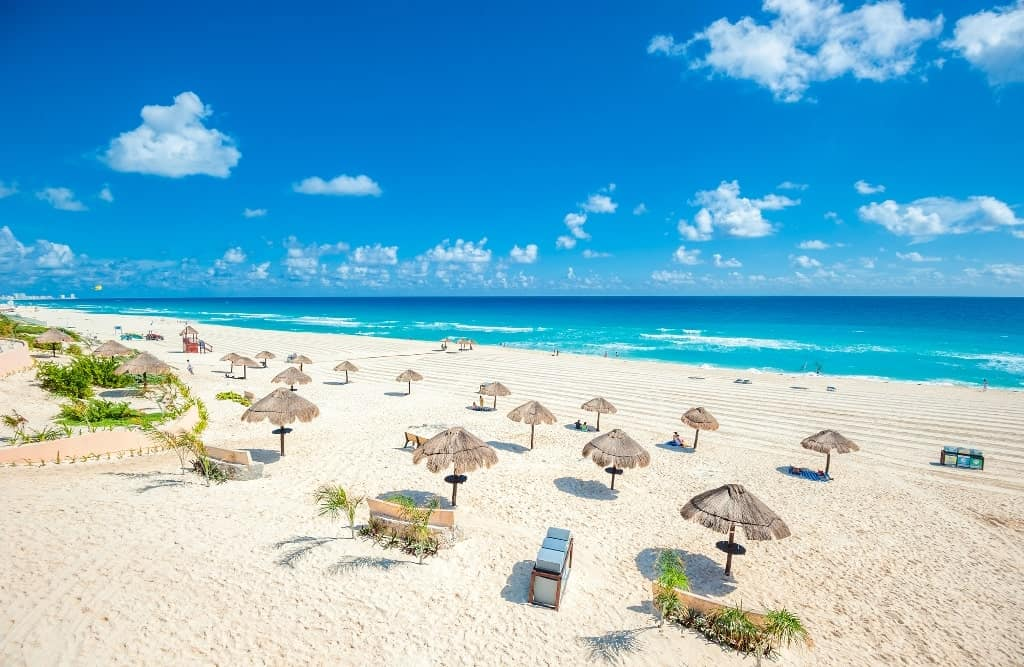 Cancun Mexico - best beach holidays in december for your winter vacation