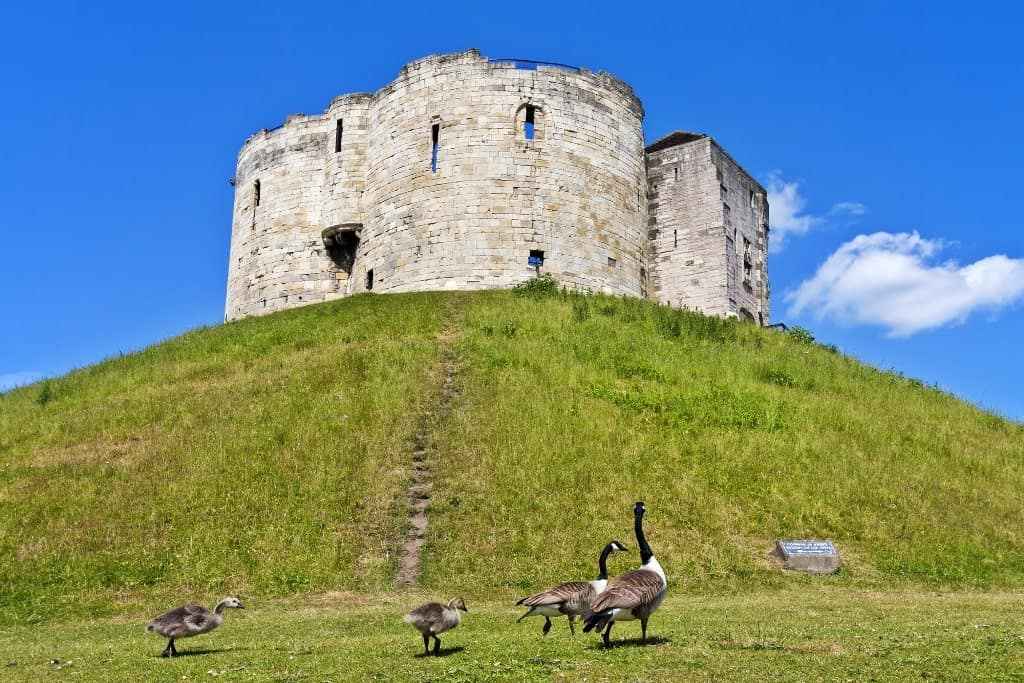 Clifford Tower York- - England itinerary