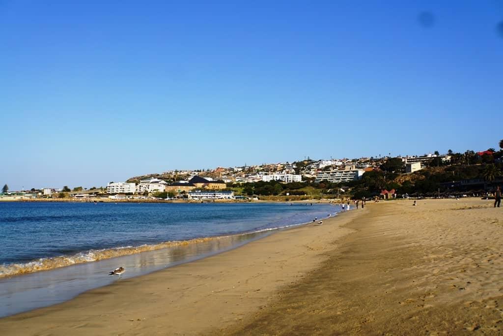 beach in Mossel Bay South Africa