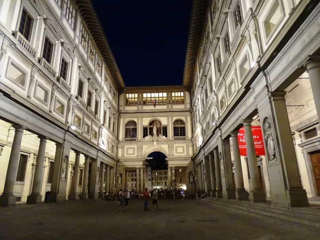 Uffizi Museum- 2 day Florence itinerary