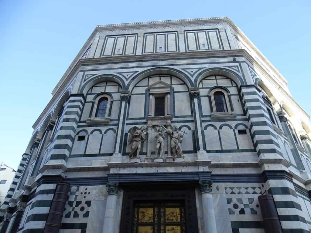 Baptistery of San Giovanni - 2 days in Florence