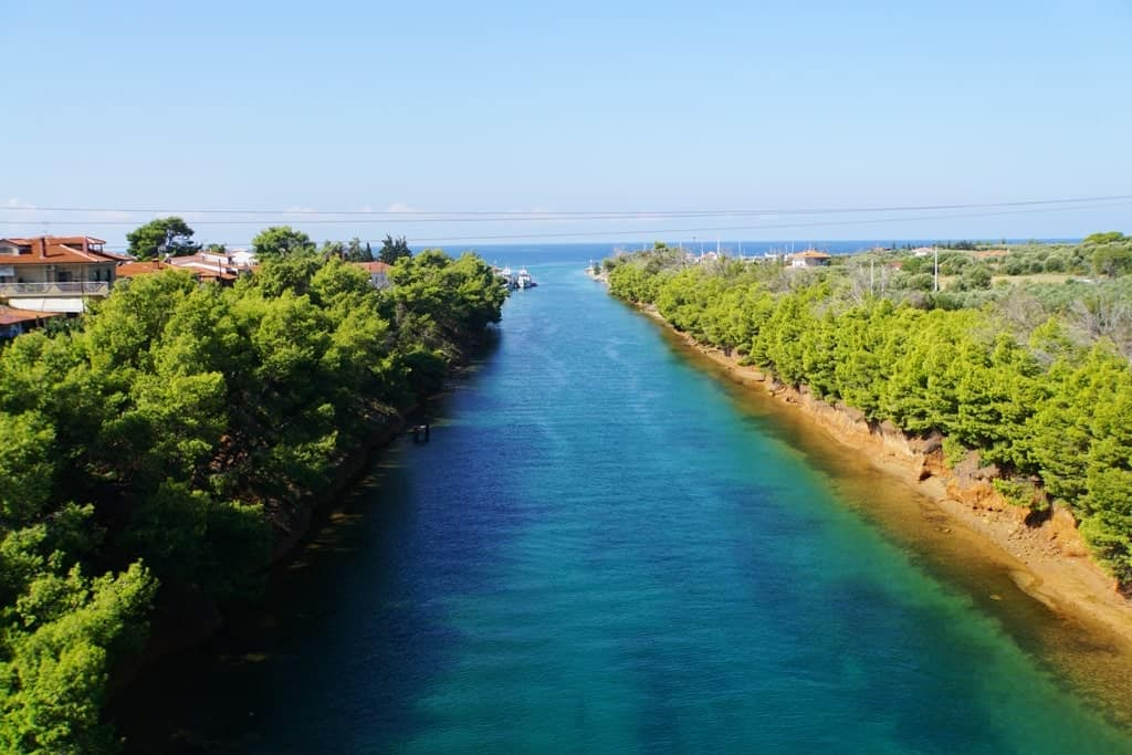Potidea Canal - Things to do in Halkidiki