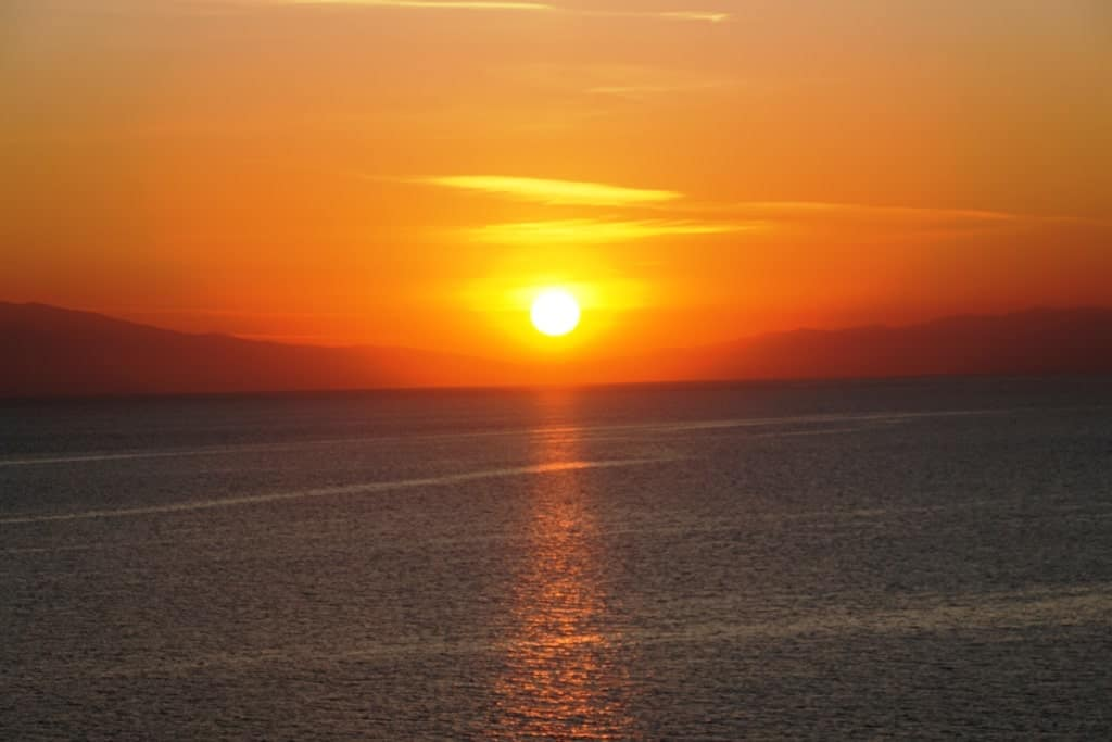 sunsets - things to do in Halkidiki