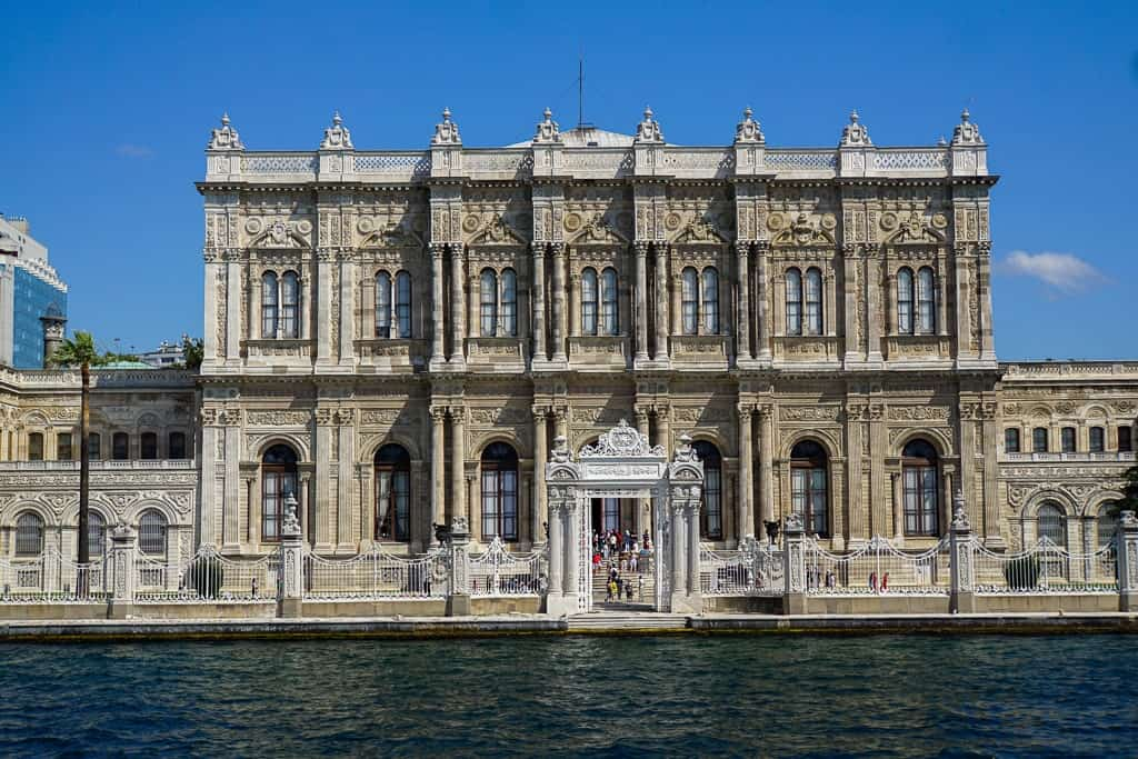 Dolmabahçe Palace - 2 day Istanbul itinerary