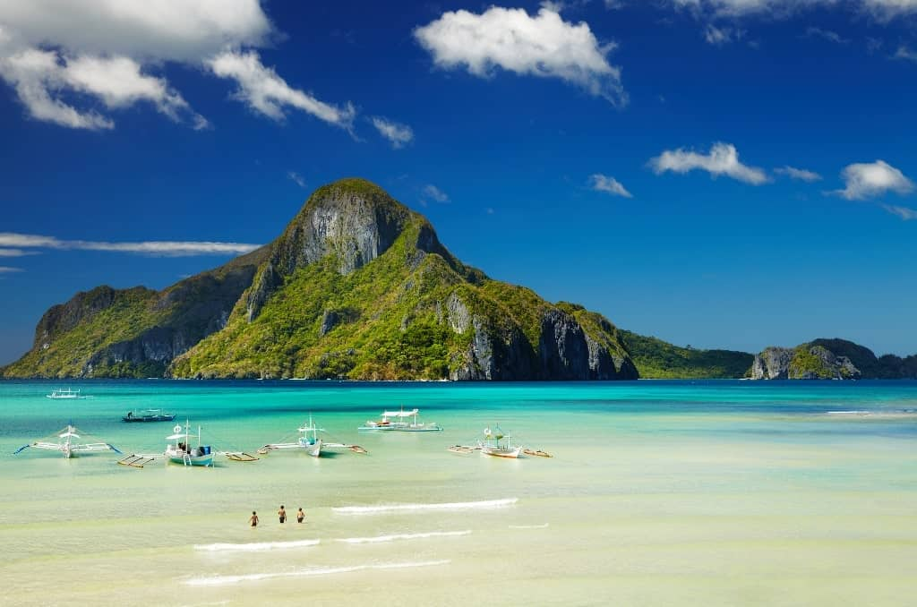El Nido, Philippines - best beach holidays in december
