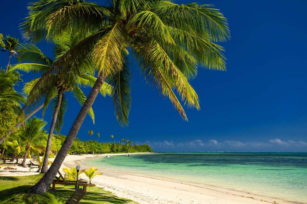 Fiji - beach holidays in december