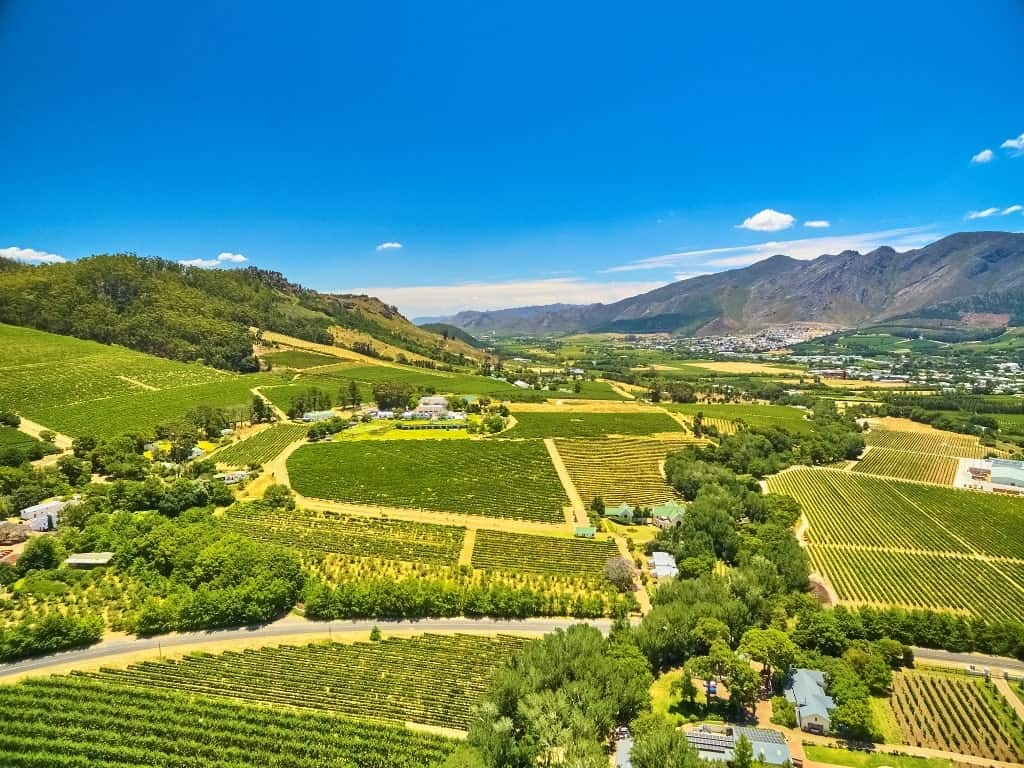 Franschhoek - best places to visit in South Africa