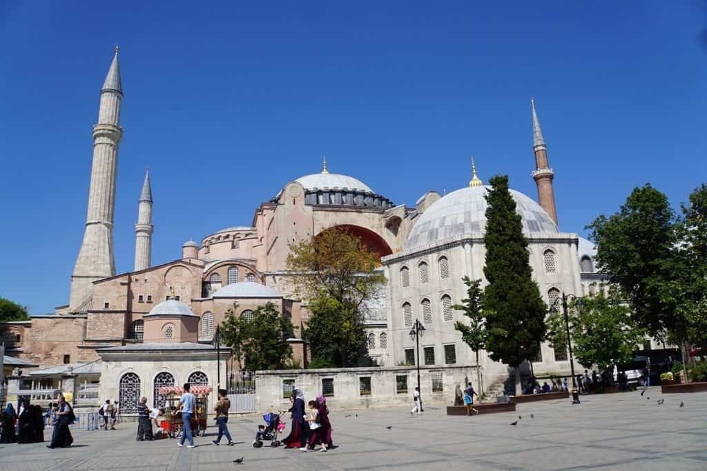 Hagia Sophia, 2 days in Istanbul