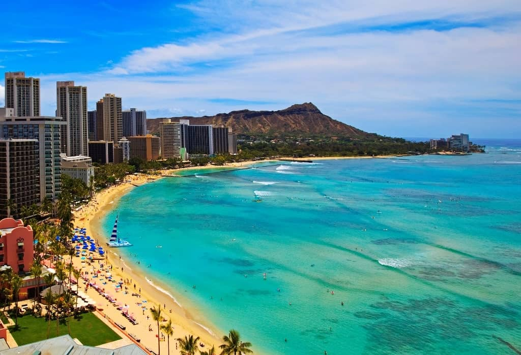 Honolulu, Hawaii- hot destinations to visit in USA in DEcember