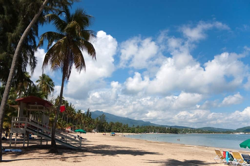 Luquillo Puerto Rico - best beach vacations in december