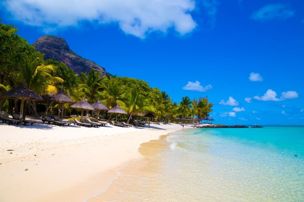 Mauritius - best beach vacations in december