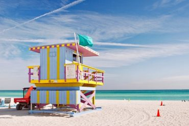 Miami - warm-weather destinations to visit in the USA in December