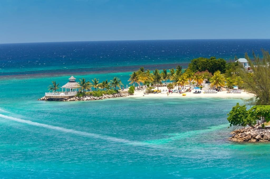 Ocho Rios Jamaica - best beach vacations in december