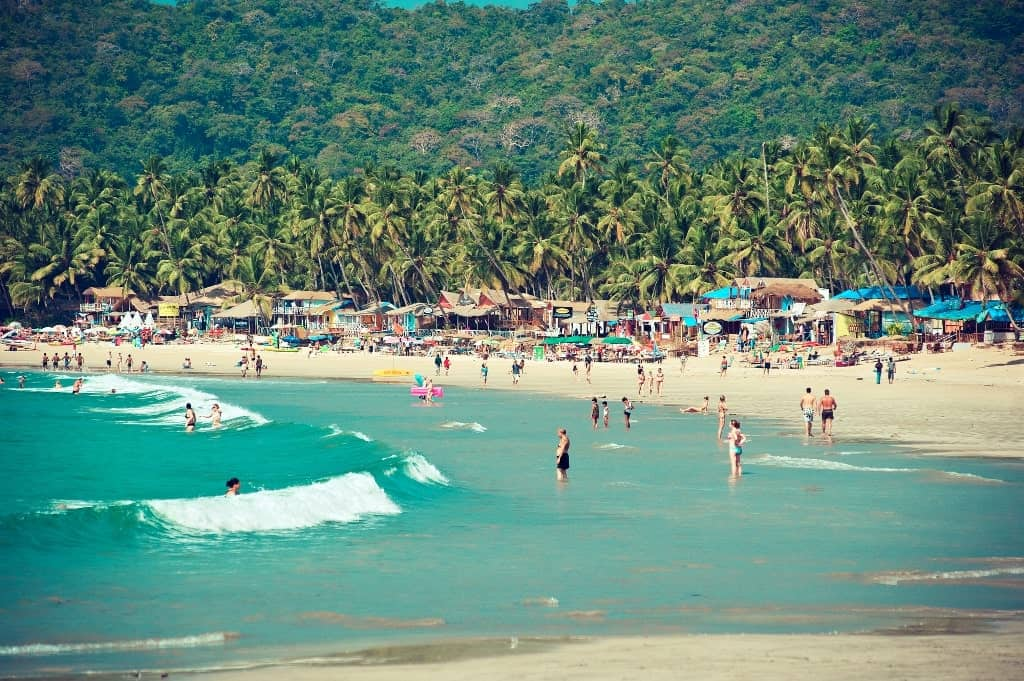 Palolem beach Goa - best beach destinations in December-