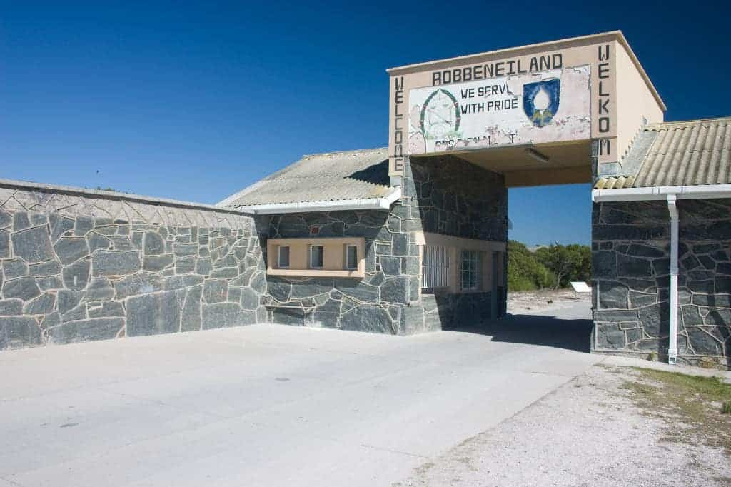 Robben Island -places to visit in South Africa