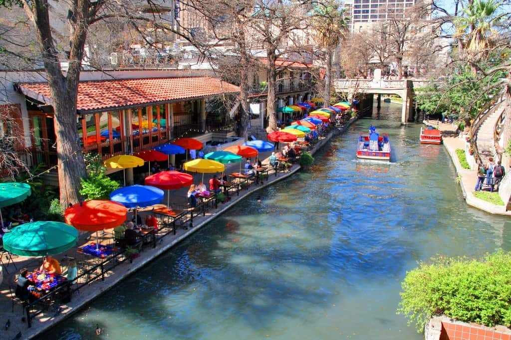 San Antonio, Texas -warm-weather destinations to visit in the USA in warm winter December
