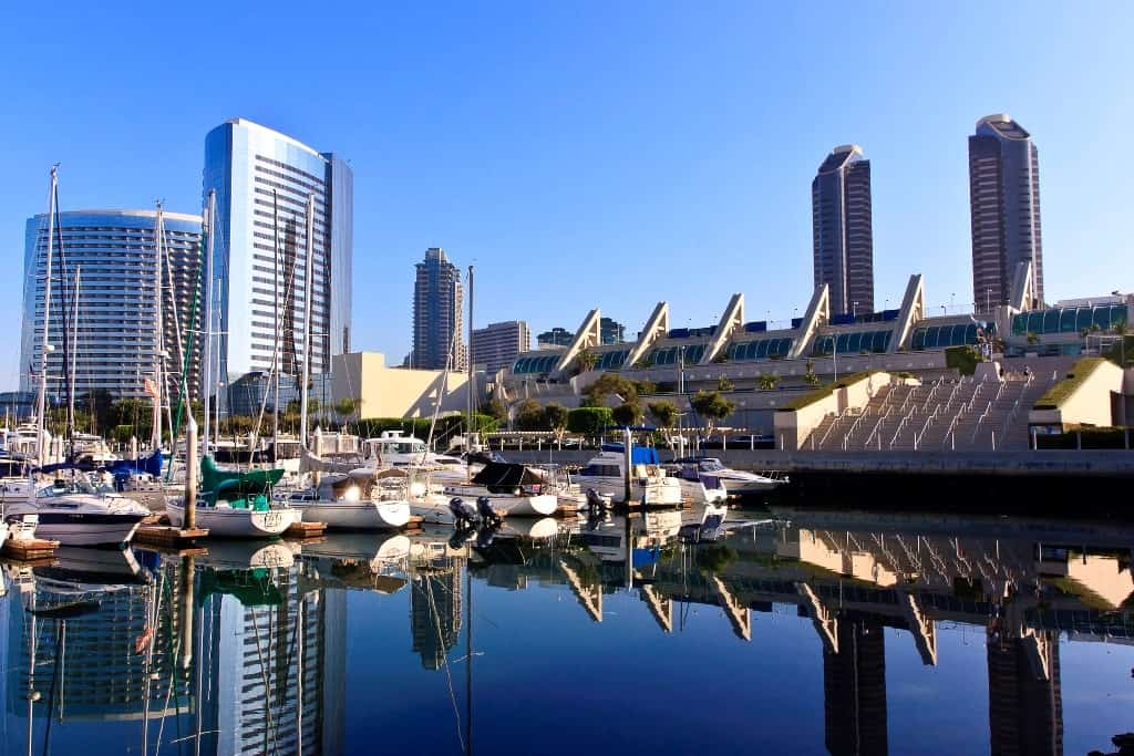 San Diego, California -where to go in the USA for hot weather in December