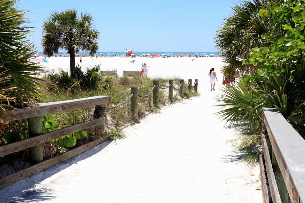 Siesta Key, Florida - hot destinations to visit in USA in warm winter December