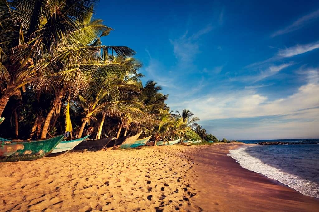 Talpe Sri Lanka - best beach destinations in December-