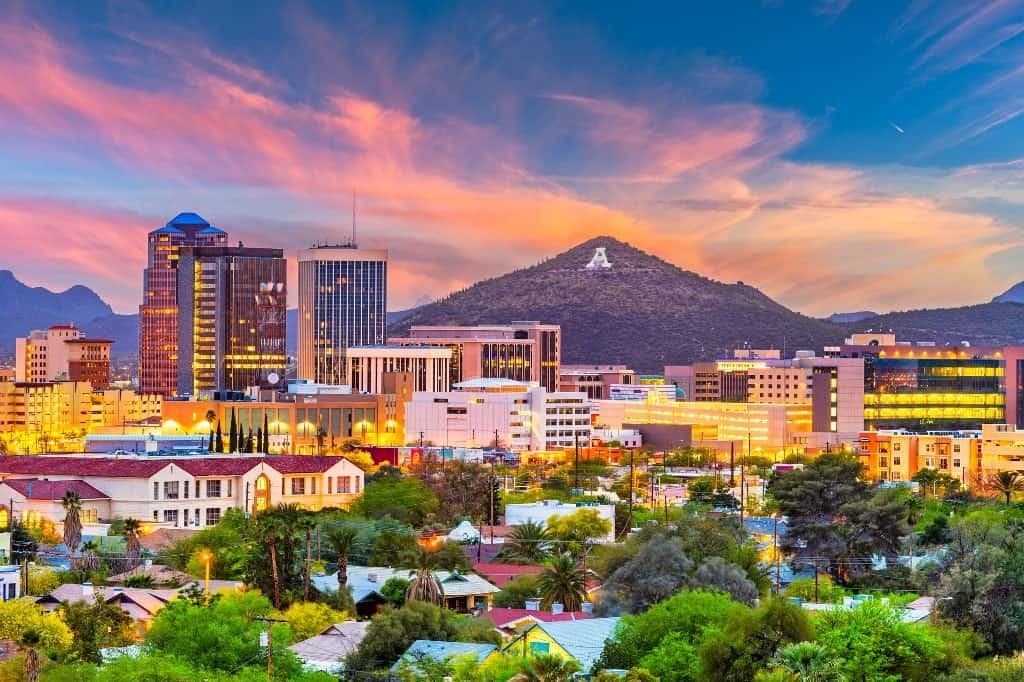 Tucson, Arizona -hot destinations to visit in USA in DEcember