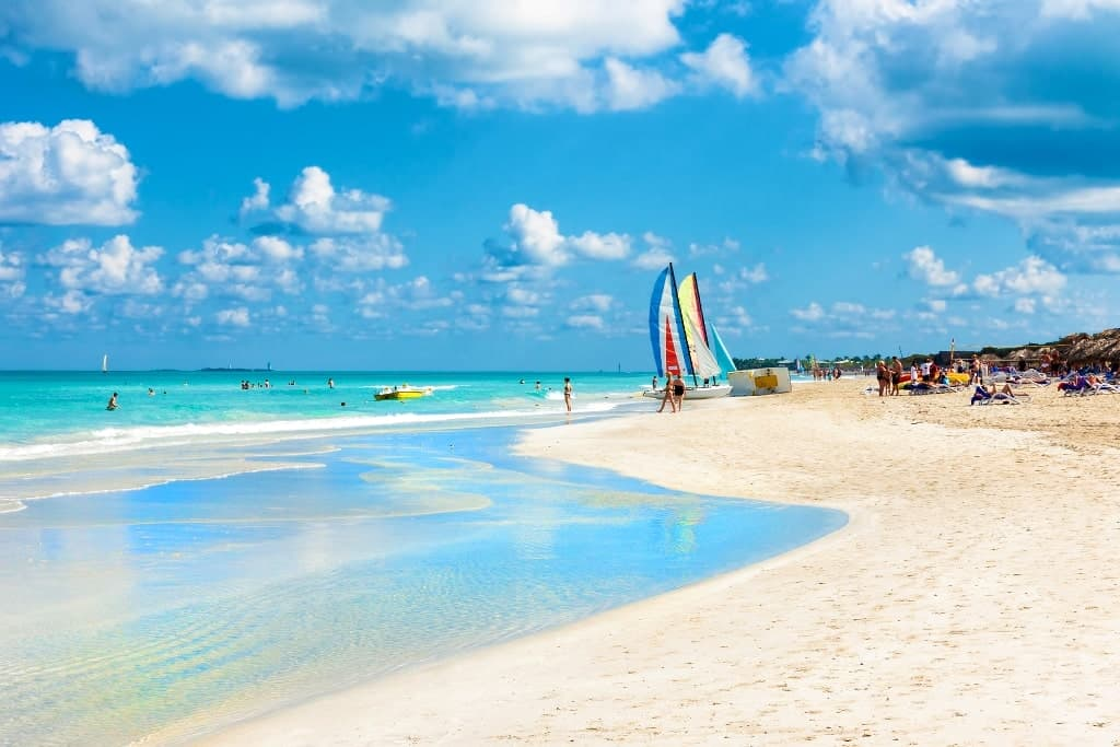Varadero Cuba - best beach destinations in December-
