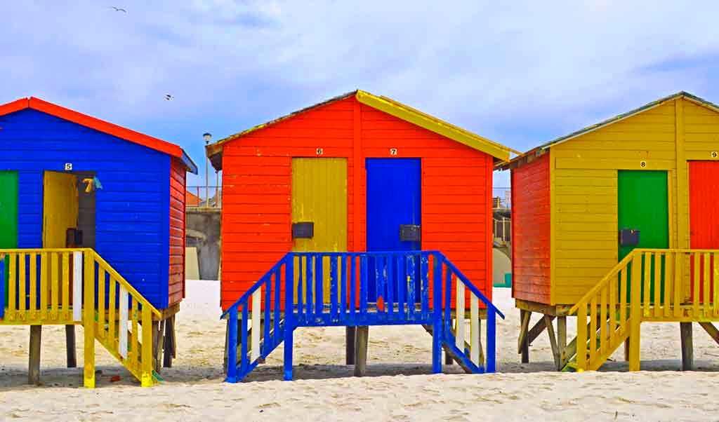 Muizenberg-beach South Africa
