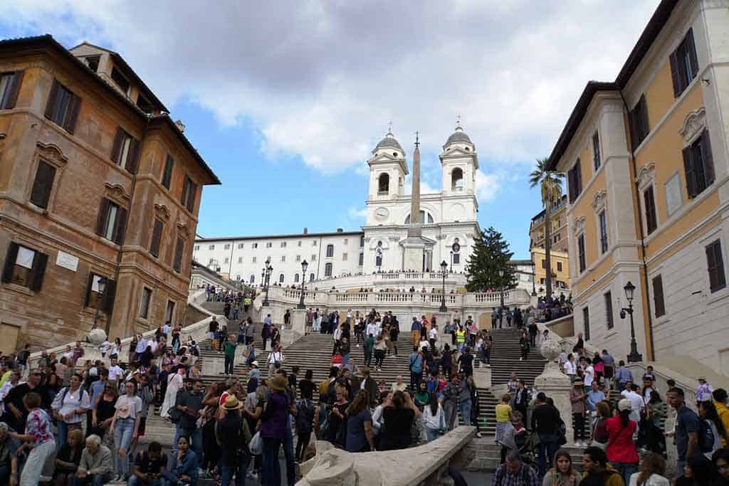 What to do in Rome-Piazza di Spania
