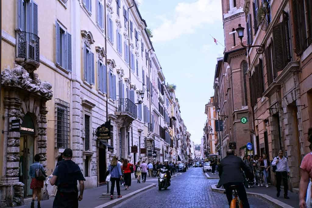 Things to do in Rome-Via Veneto