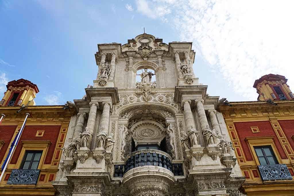 Palacio de San Telmo - Seville in October