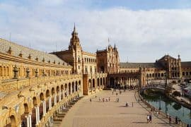 Plaza de Espagna Seville