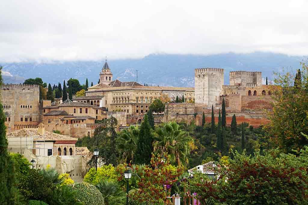 Granada - best day trips from Seville