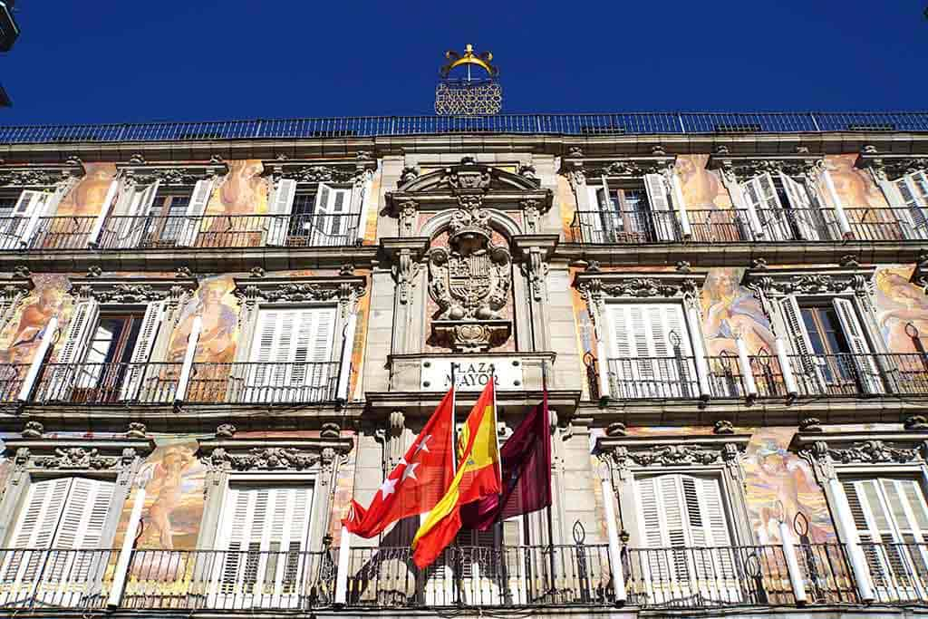 2 days in Madrid - Plaza Mayor