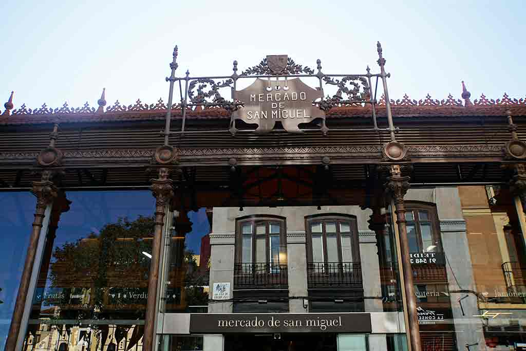 Mercado San Miguel - 2 days in Madrid itinerary