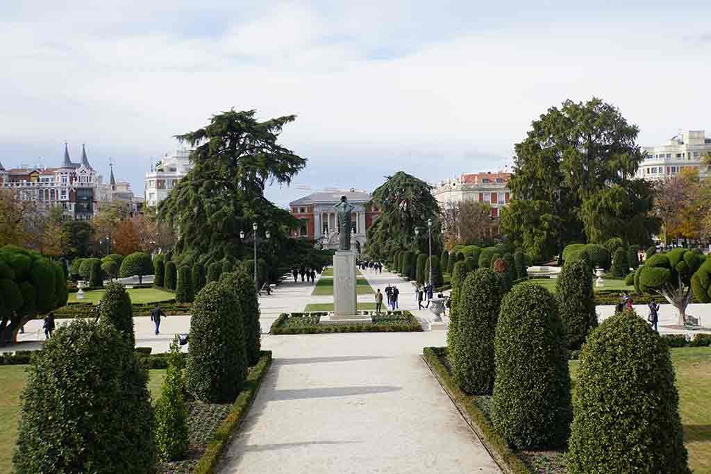 Retiro Park - Madrid itinerary