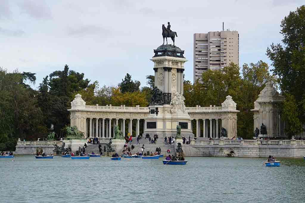 Retiro Park - two days in Madrid