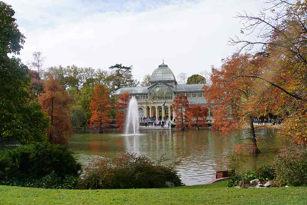 Palacio Cristal - 2 days in Madrid