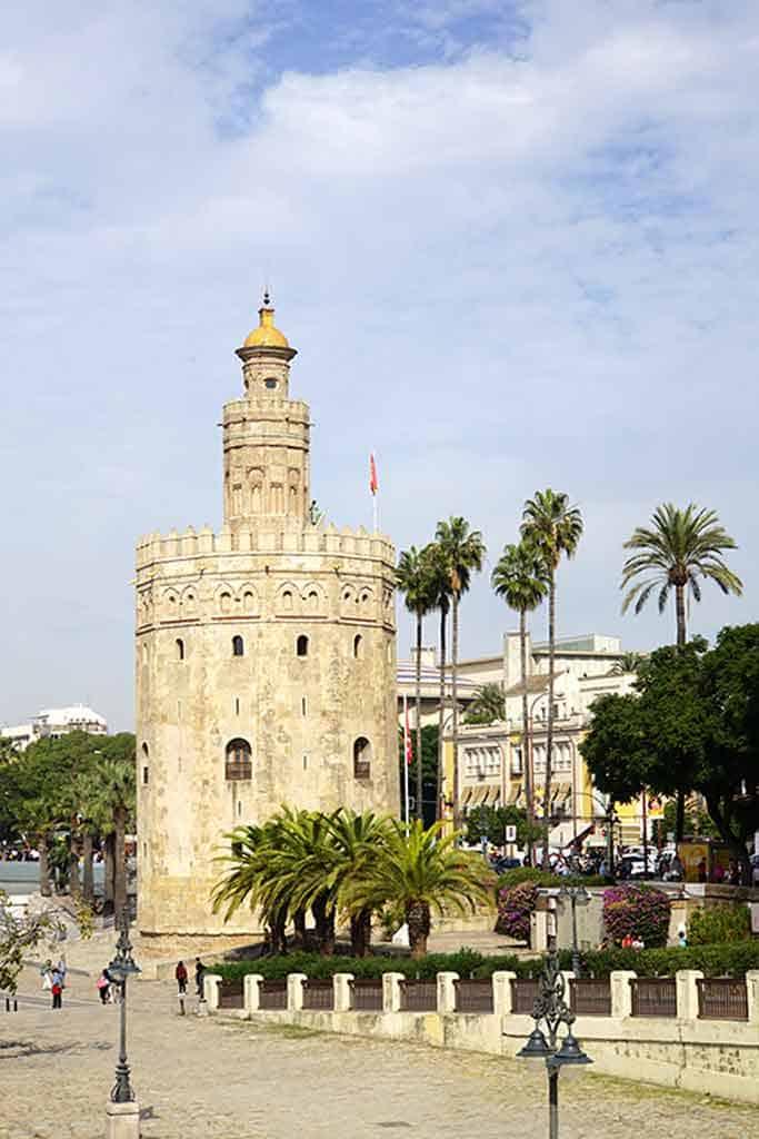 Torre del Oro Seville itinerary