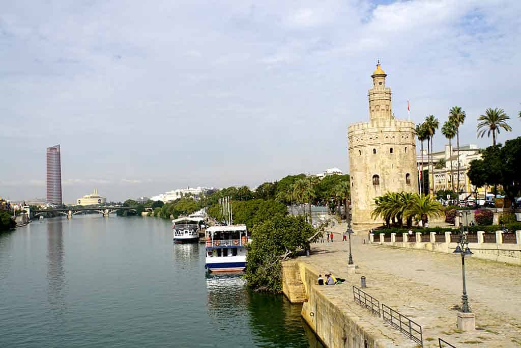 Torre del Oro - 2 days in Seville