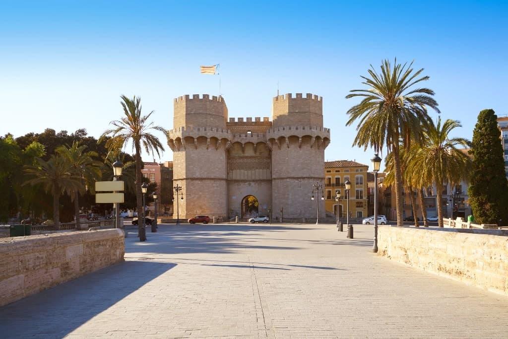 Torres de Serranos - 2 days in Valencia