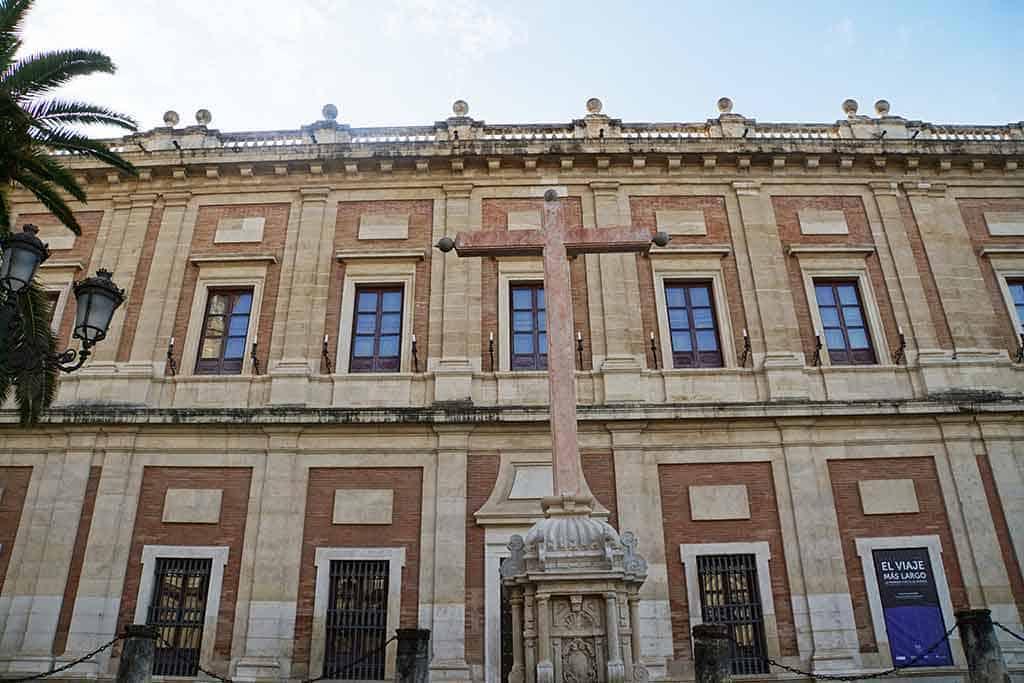 Archivo de Indias - Seville itinerarary
