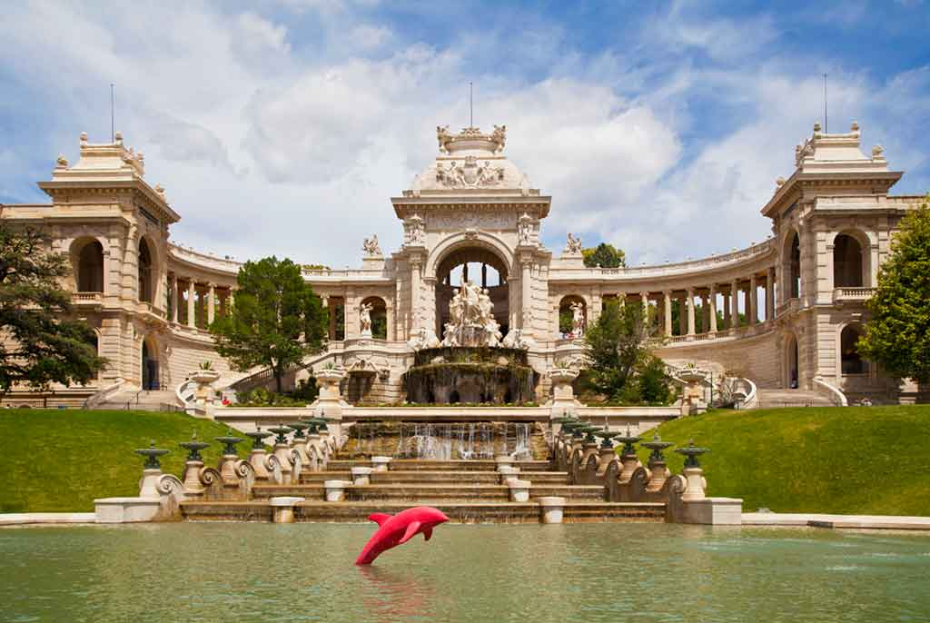 Palais Longchamp - one day in Marseille France