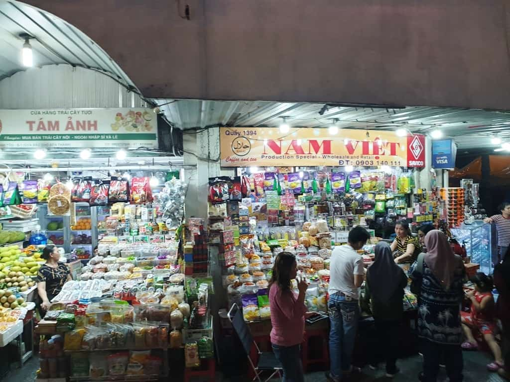 Ben Thanh Market - 2 days in Ho Chi Minh