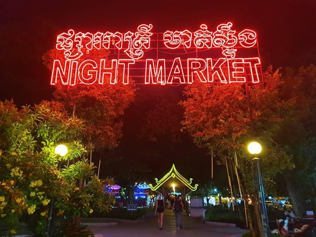 Night Market in Siem Reap - 2 days in Siem Reap