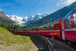 Bermina Express - Italy Switzerland itinerary
