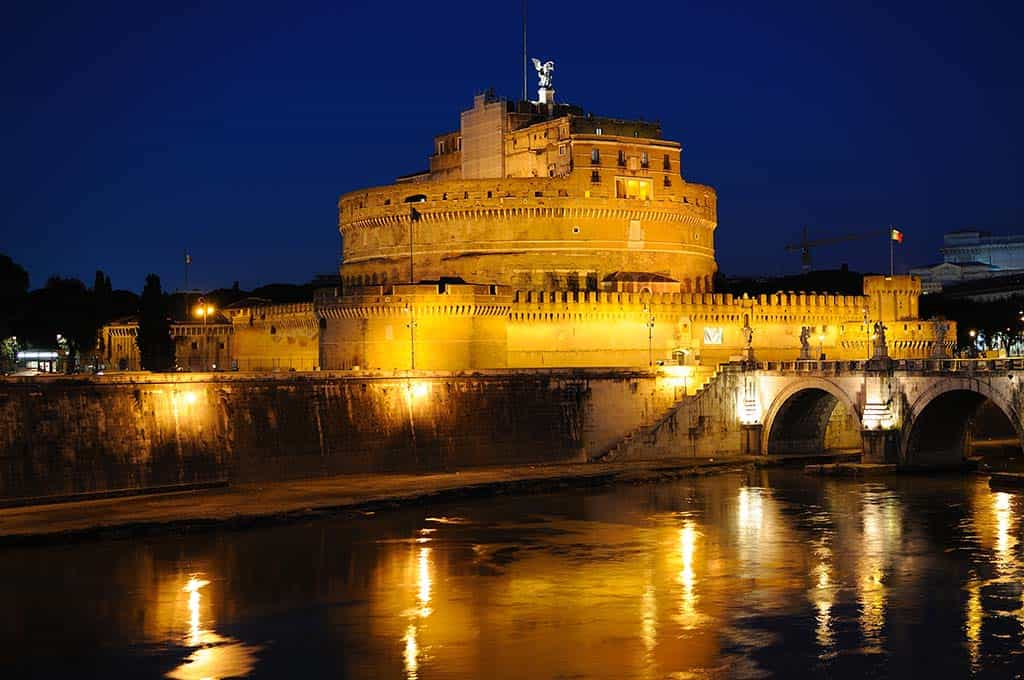 Castel Sant'Angelo - Rome by night