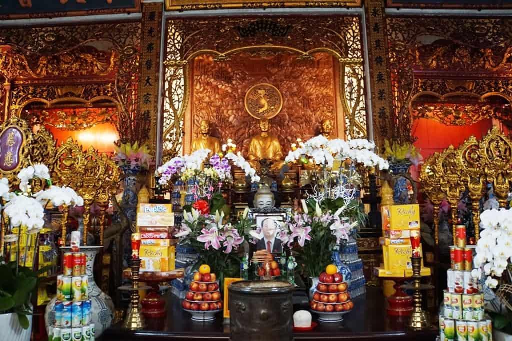 Vĩnh Nghiêm Pagoda - Ho Chi minh itinerary
